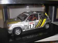 Renault 5 r5 GT Turbo supercinq Tour de Corse 1989 Ragnotti en 1:18 de norev