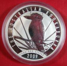 2009 Silver Australian Kookaburra 1 oz. Perth Mint 20th Anniversary Coin P-20