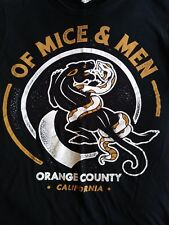 Of Mice and Men Orange County California shirt used S