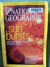National Geographic - July 2004 Back Issue ~ SUN BURSTS HOT NEWS FROM OUR STORMY
