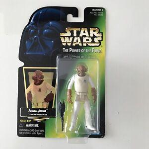 Kenner Star Wars Admiral Ackbar With Comlink Wrist Blaster Action Figure