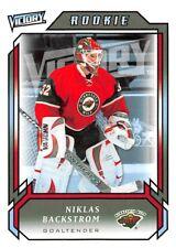 2006-07 Upper Deck Victory #295 Niklas Backstrom RC Rookie Wild