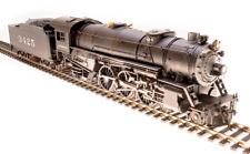 HO Scale - BROADWAY LTD 5591 SANTA FE 4-6-2 PACIFIC # 3425 DCC & PARAGON 3 SOUND