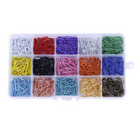 750x Small Bulb Safety Pins Metal Mixed Colors Coilless Tag Sewing Findings