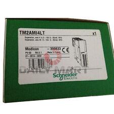 New Schneider TM2AMI4LT Analog Input Module 60mA, 24VDC