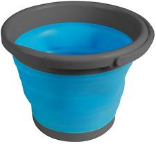 Kampa folding collapsible 5ltr 5 litre bucket (blue) CW0063