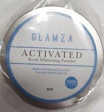Glamza - charbon actif Dent blanchissant POUDRE NOIX DE COCO Naturel