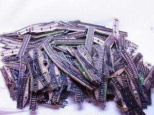 83662 Konvolut ca. 7,5 kg Märklin H0 M-Gleis Gerade Kurven Weichen gebraucht