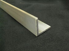 """1/4"""" Aluminum Angle 2"""" x 2"""" x 36"""" long architectural 6063 Mill Finish"""
