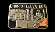 Chariot Elevateur French Forklift Operator Belt Buckle Bouce De Ceinture