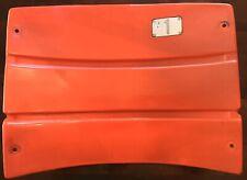 NY Mets Shea Stadium Orange Field Box Seat Back w/ MLB Hologram and Mets Letter