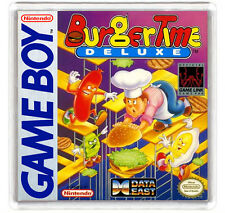 BURGER TIME DELUXE NINTENDO GAME BOY FRIDGE MAGNET IMAN NEVERA