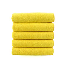 5 x Microfibre Cloths Car Valeting, Cleaning, Waxing, Detailing, PTFE Polishing
