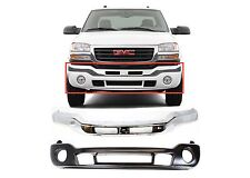 Replacement Front Bumper Combo For 2003-2007 GMC Sierra 1500 2500 3500 New USA
