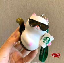 New Starbucks 2020 China Sunglasses Cat Siren Mermaid Vivicat Keychain