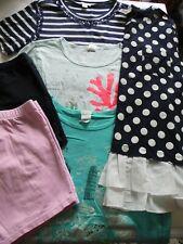 J Crew Crewcuts Girls' Clothing 6 item Lot 4 Tops & 2 Shorts Size 16 - EUC/VGC