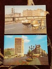 1963 DUBLIN CITY OLD GUINNESS SIGN & MARKET TRADERS Ireland irish postcard set