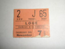 GREGG ALLMAN BAND  / SHRINE AUD ~ Allman Brothers Ticket Stub Nov 7, 1974 ~ EXC