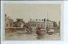 Printed postcard the privateer paddle steamer  South end Boston  Lincolnshire gc
