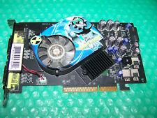 XFX GeForce 7600GT 256MB 128-bit DDR3 Dual DVI AGP x8, Win 7/8, Working