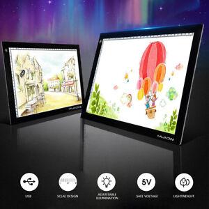 """Huion L4S 17.7"""" Ultra Thin 5mm LED Light Box USB Tracing Board Pad"""