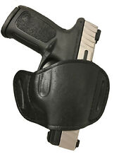 Leather Belt Gun Holster for Taurus PT 709 slim by Protech Outdoors
