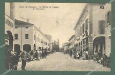 S.PIETRO IN CASALE, Bologna. Via principale. Cartolina d'epoca viaggiata.