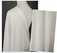 Brand Per 0.5 Yard Habotai/Habutai 100% Pure Silk Lining Dress Fabric Off White