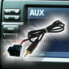 Aux en adaptador cable para bmw bm54 e39 e46 e38 e53 x5 radio Navi CD celular iphone