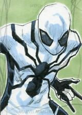 2020 Marvel Masterpieces Sketch Card By Jerry Bennett