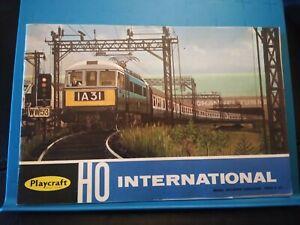 Playcraft HO International Model Railways Catalogue 1967 Ref 24886