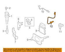 HYUNDAI OEM 11-15 Elantra-Engine Crankshaft Crank Position Sensor CPS 391802B000