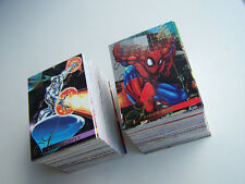 1995 Flair Annual Marvel Trading cards Set Spider-Man X-Men Wolverine Vintage
