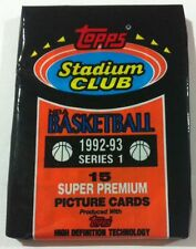 NBA Topps Stadium Club 92/93 Series 1 Pack - Basketball Cards