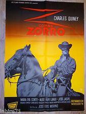 Z COMME ZORRO   !  affiche cinema