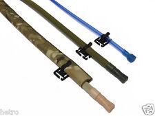 Drink tube clip, strap clip, positioning clip, for backpack, camelbak, lbe, lbv