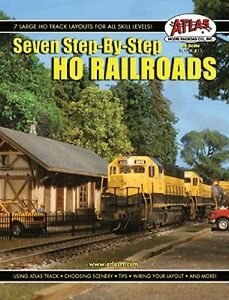 Seven Step-By-Step HO Railroads Book - Atlas item #13