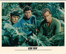 Star Trek Original Series Kirk, Spock and McCoy Classic Episode Outdoors Photo
