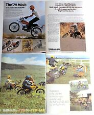 1972 YAMAHA MINI-ENDURO JT1 JT2MX JT2  ADS/ BROCHURE