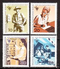 Berlin 1969 Mi. Nr. 342-345 Postfrisch LUXUS!!
