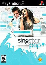 Singstar Pop (Playstation PS2) Brand New, Sealed~(game only) free shipping