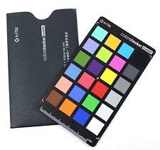 """X-rite ColorChecker Classic (MSCCC) 4.25"""" Color Calibrating Card"""