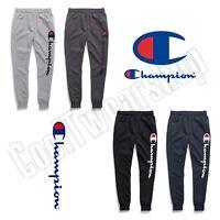 Champion Men's Powerblend Fleece Joggers, Verticle Script Logo GF22H Y07234