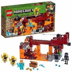 LEGO Minecraft The Blaze Bridge 21154 Building Kit Playset 372 Pieces