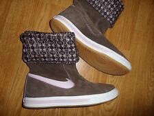 NIKE GLENCOE 100857228 SUEDE BOOTS WOMEN'S 10 BROWN PINK