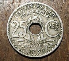 PIECE DE 25 CENTIMES LINDAUER 1929 (70)