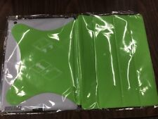iPad 2 Plastic Case With Screen Cover Flap Green White New In Plastic Wrap