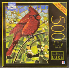 Cardinal Glass Puzzle - 500 Pieces - Big Ben Luxe