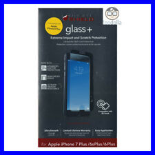 ZAGG InvisibleSHIELD Glass, Tempered Glass Screen Protection, iPhone 6/6s/7 Plus