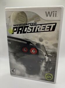 Need for Speed: ProStreet (Nintendo Wii, 2007) No Manual Clean Disc